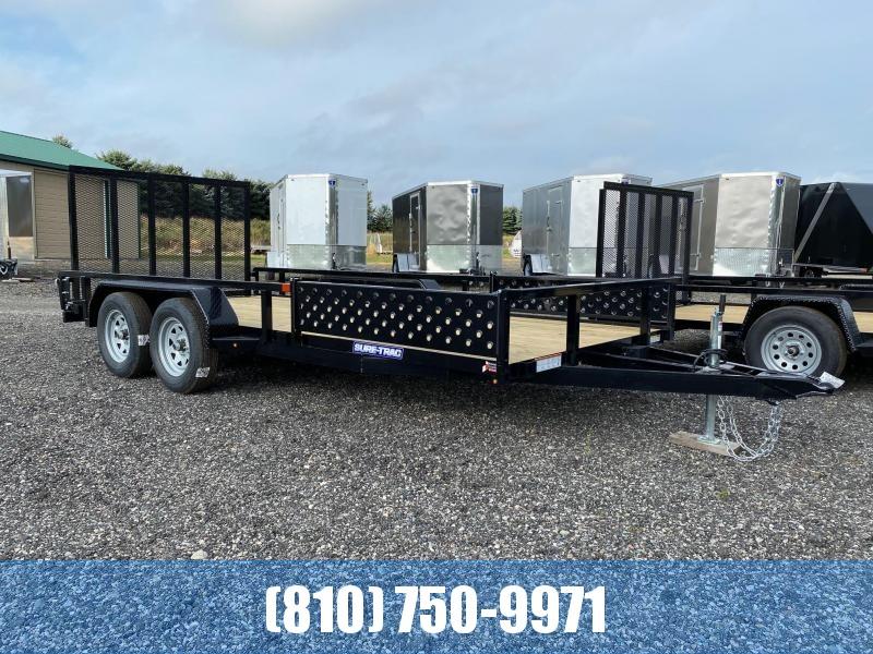2021 Sure-Trac ST8216TATTV-B-070 ATV Trailer