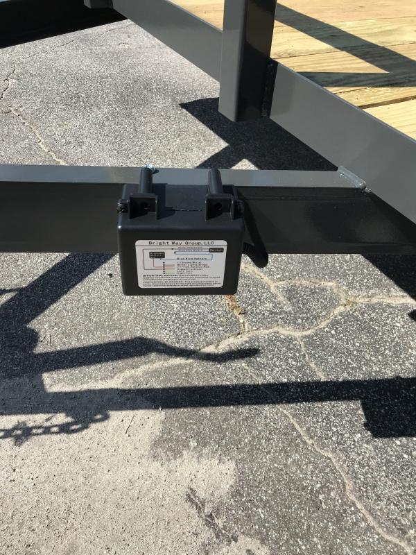 2021 FPT 7x16TA Utility Trailer / 7K / Braked