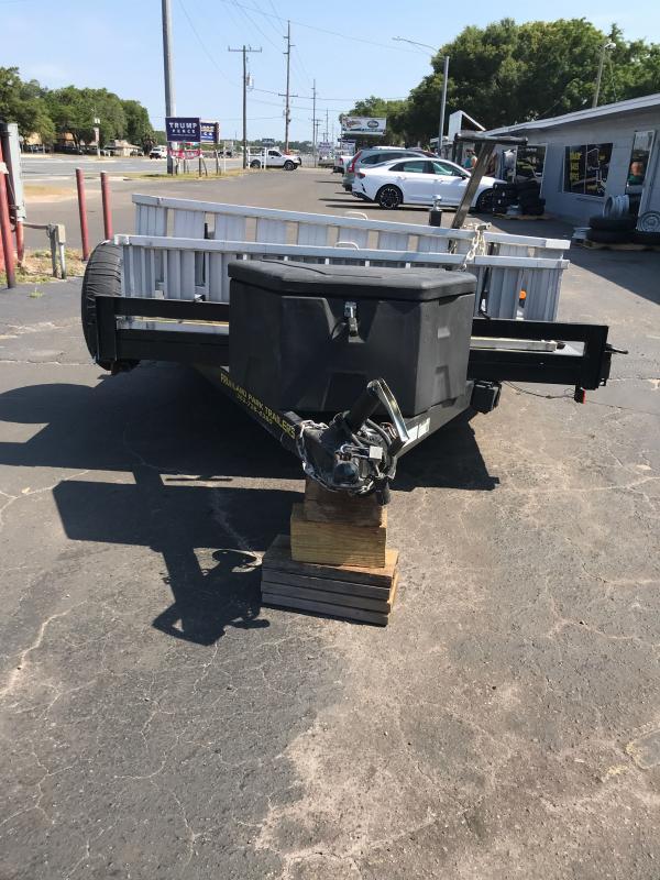2018 TCW-7-16TA 7K Car Hauler w/ Slide in Ramps
