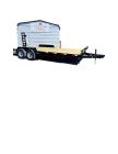 2021 TEH 7x20 Equipment Hauler / 14K /  Foldup Ramps