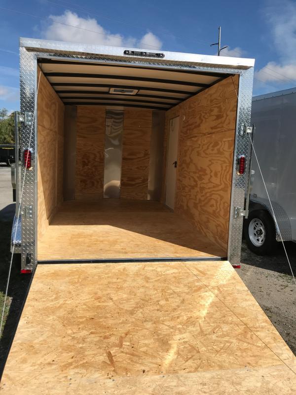2021 Arising 712VTRSM Enclosed Cargo Trailer