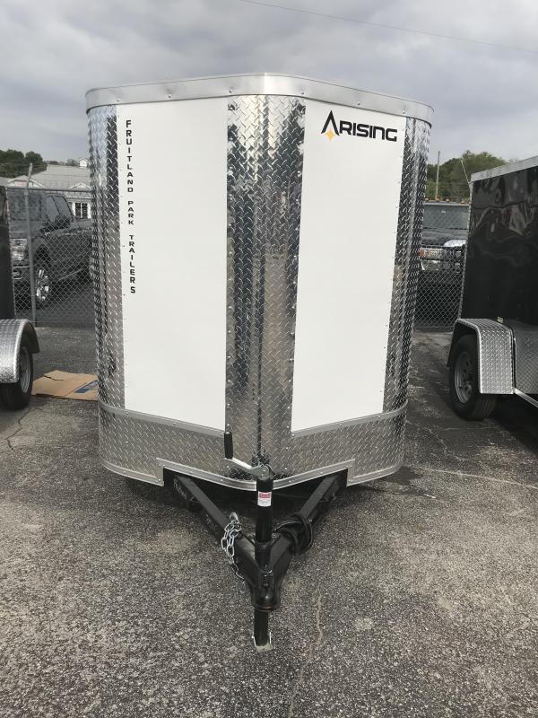 2021 Arising 58VSRW Enclosed Cargo Trailer
