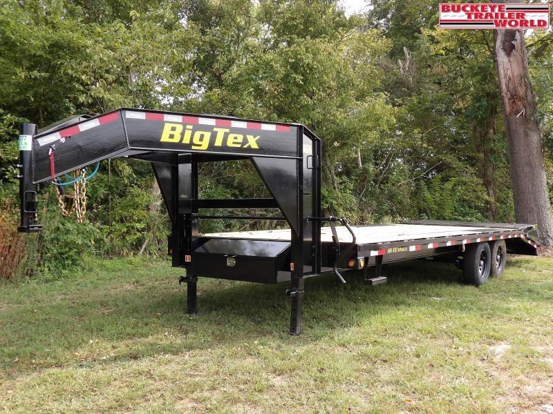 2021 Big Tex Trailers 14GN-20+5MR Equipment Trailer