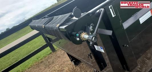 2021 PJ DR 14' Rollster Dump Trailer Combo