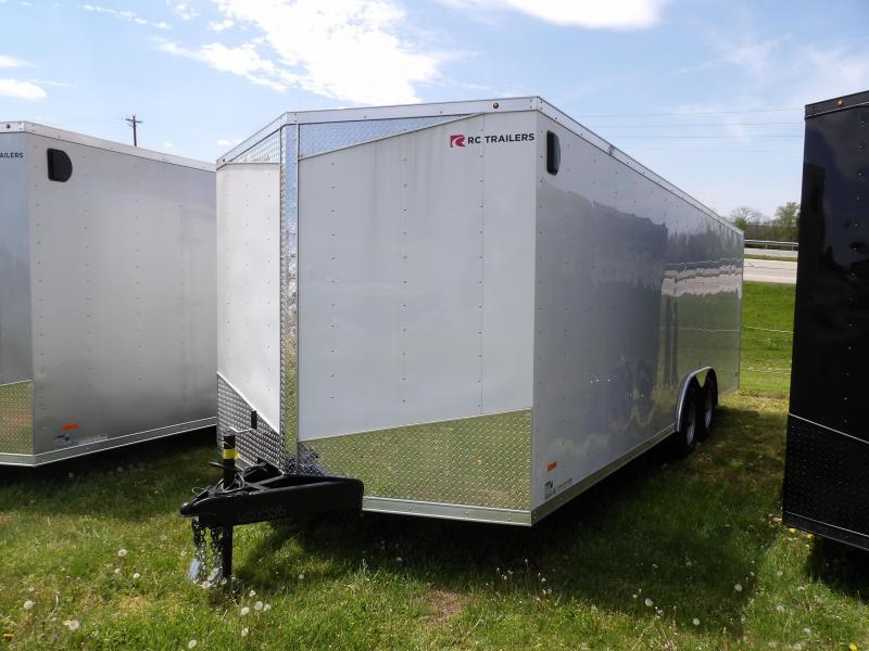2020 RC Trailers RDLX8.5x22TA Enclosed Cargo Trailer