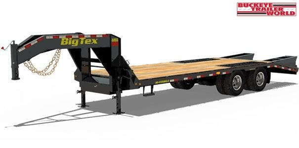 2021 Big Tex Trailers 22GN-35+5 Equipment Trailer