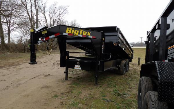 "2020 Big Tex Trailers 14OD 96"" x 14' Gooseneck Dump Trailer"