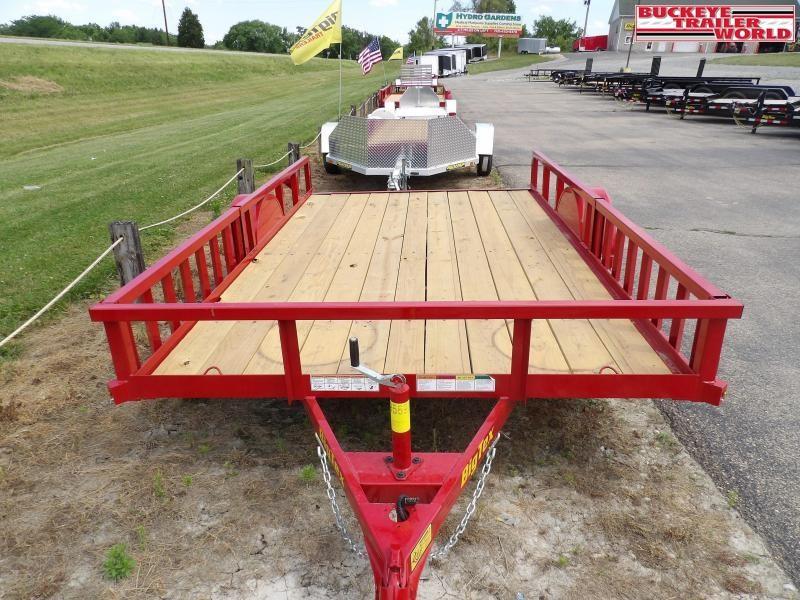2020 Big Tex Trailers 35SA-12RSX Utility Trailer