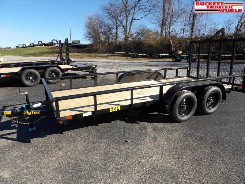 """2021 Big Tex Trailers 60PI-77""""x16 Utility Trailer"""
