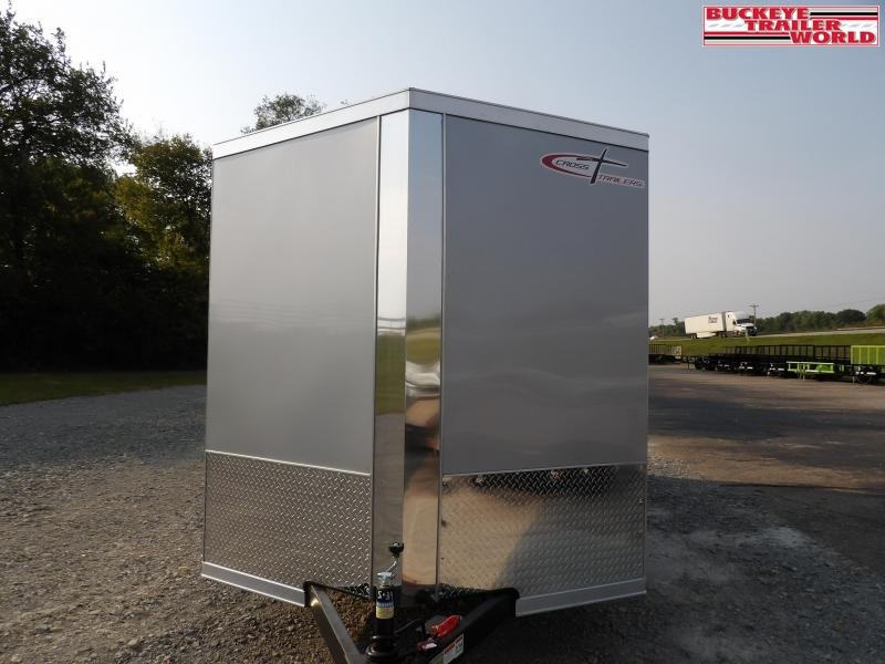"""2022 Cross Trailers 7X16TA w/ 6"""" Extra Height Enclosed Cargo Trailer"""