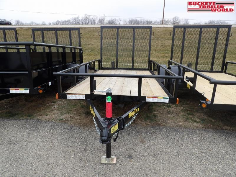 "2021 Big Tex Trailers 30SA-60""x08 Utility Trailer"