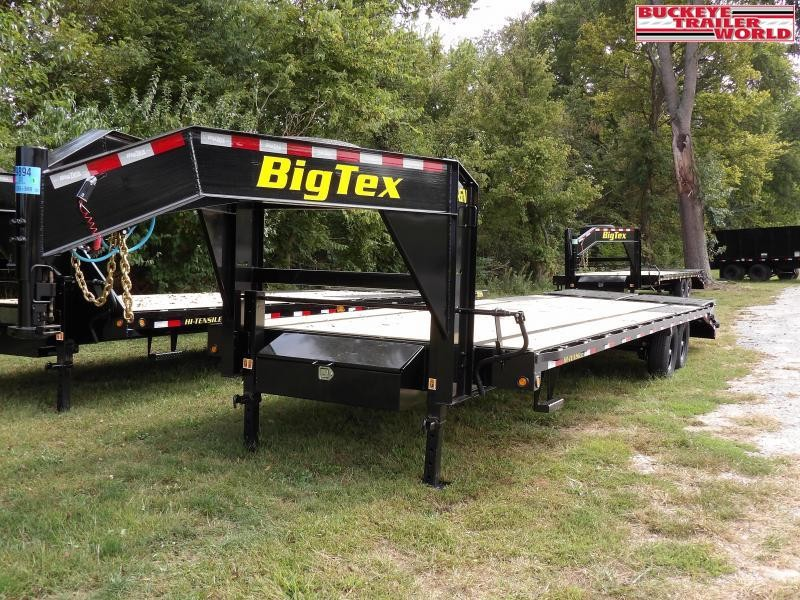 2021 Big Tex Trailers 14GN-25+5MR Equipment Trailer