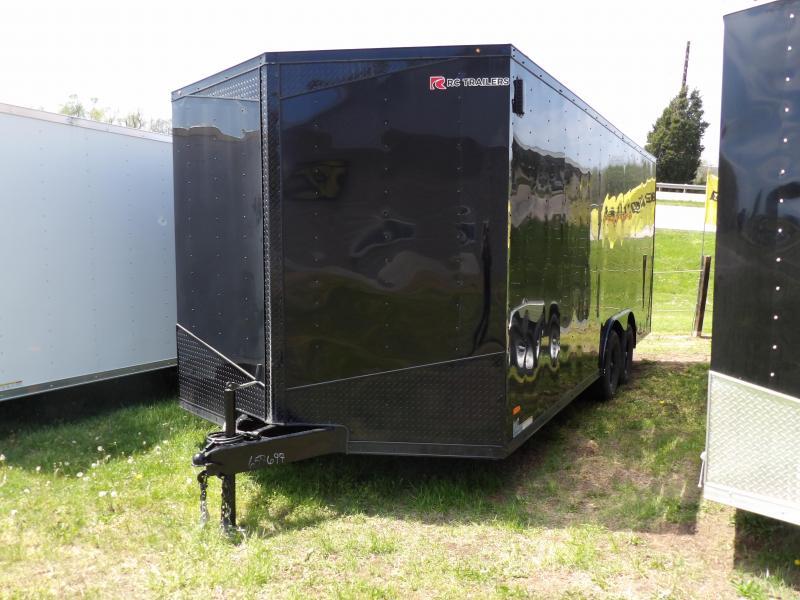 2020 RC Trailers RDLX8.5x20TA Enclosed Cargo Trailer