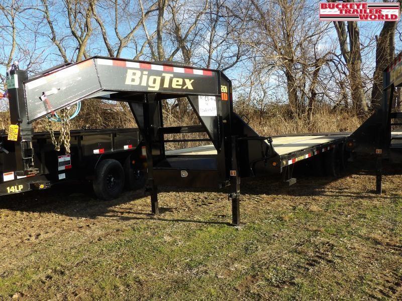 2021 Big Tex Trailers 22GN-20+5MR Flatbed Trailer