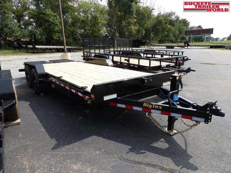 2021 Big Tex Trailers 14ET-20BK-MR Equipment Trailer