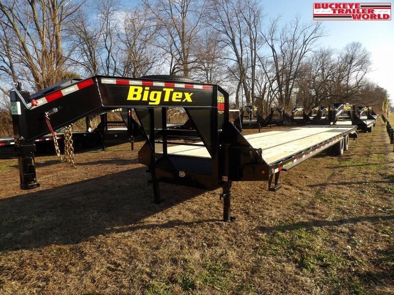"2021 Big Tex Trailers 22GN-102""x35+5 Equipment Trailer"