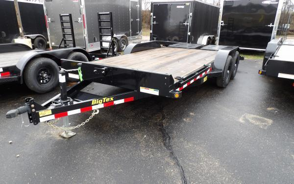 2020 Big Tex Trailers 10ET 7 x 16 Equipment Trailer