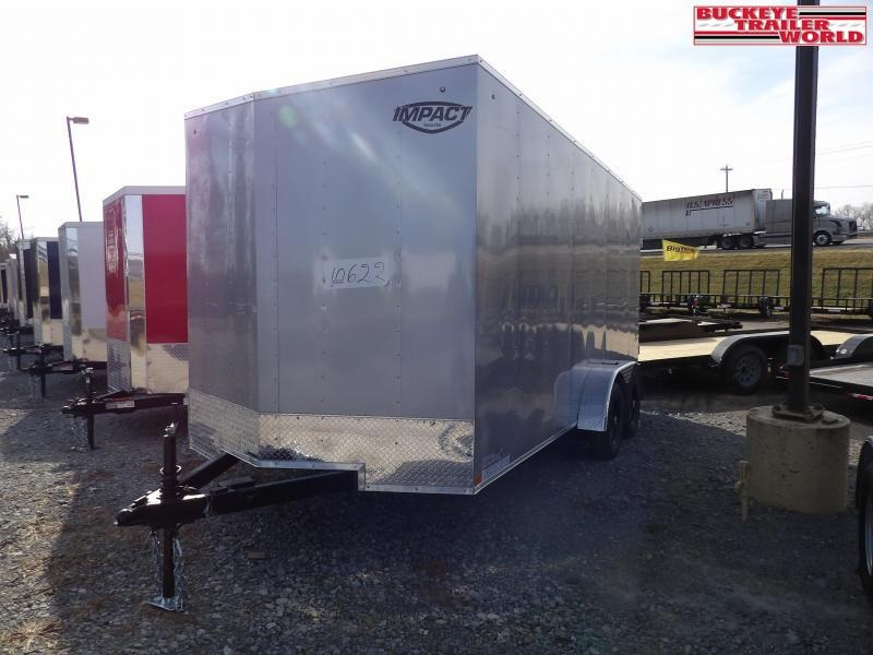 2021 Impact Trailers Quake 7x16 Enclosed Cargo Trailer