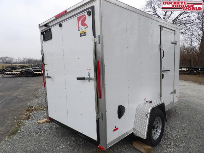 2021 RC Trailers RDLX 6x10 Enclosed Cargo Trailer