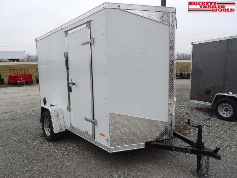 2021 RC Trailers RDLX 6x10 Enclosed Cargo Trailer