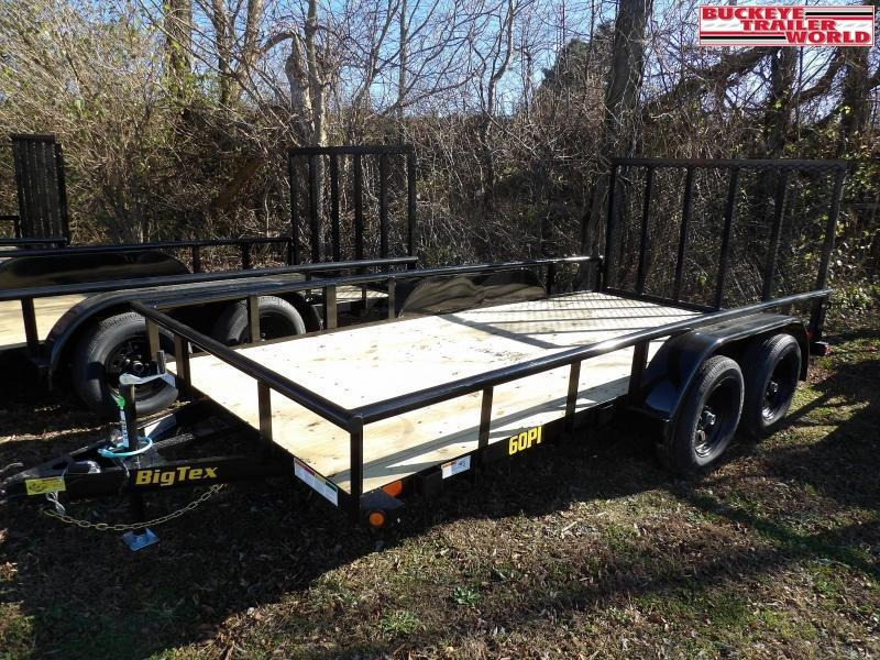 "2021 Big Tex Trailers 60PI-77""x14 Utility Trailer"