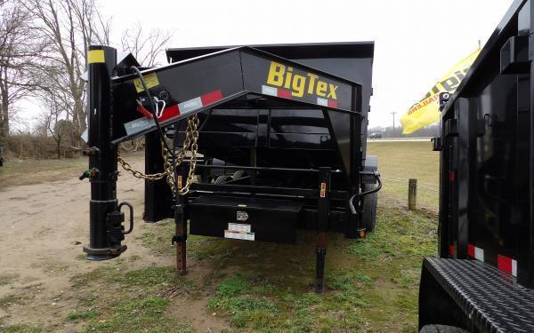 "2019 Big Tex Trailers 14GX 83"" x 14' Gooseneck Dump Trailer"