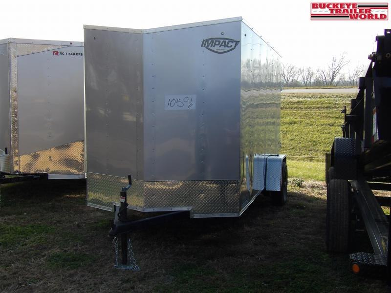 2021 Impact Trailers 6x12SI2 Enclosed Cargo Trailer