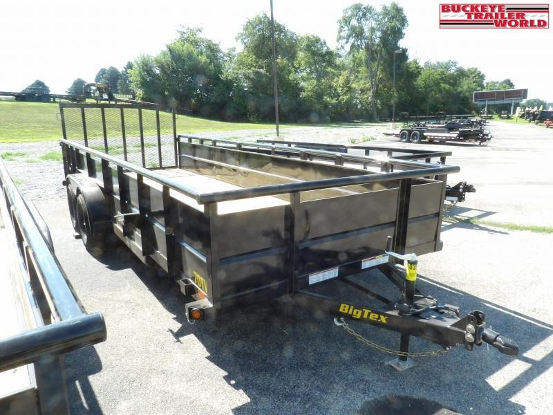 2021 Big Tex Trailers 70TV-20 2BRK Utility Trailer