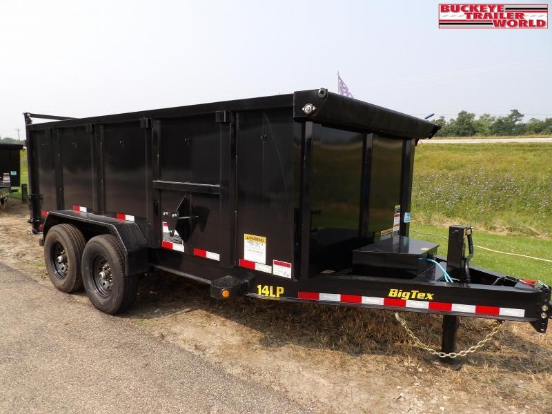 2022 Big Tex Trailers 14LP-14(High sides)Dump Trailer