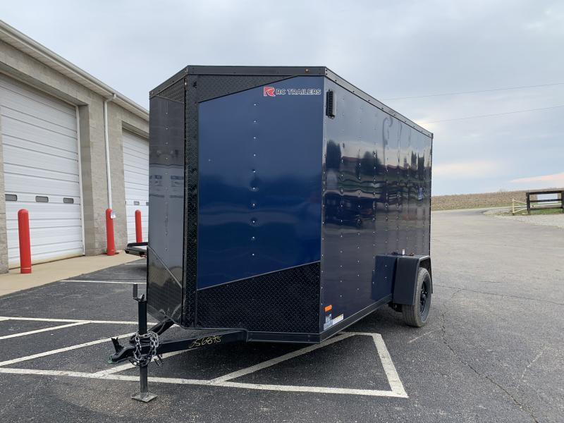 2020 RC RDLX 6x12 Enclosed Cargo Trailer Blackout