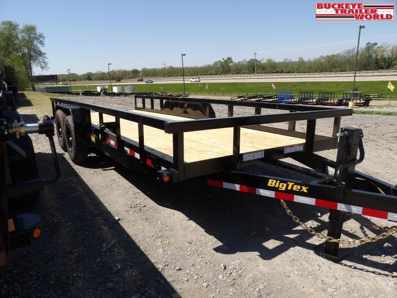 2022 Big Tex Trailers 14PI-20 Equipment Trailer