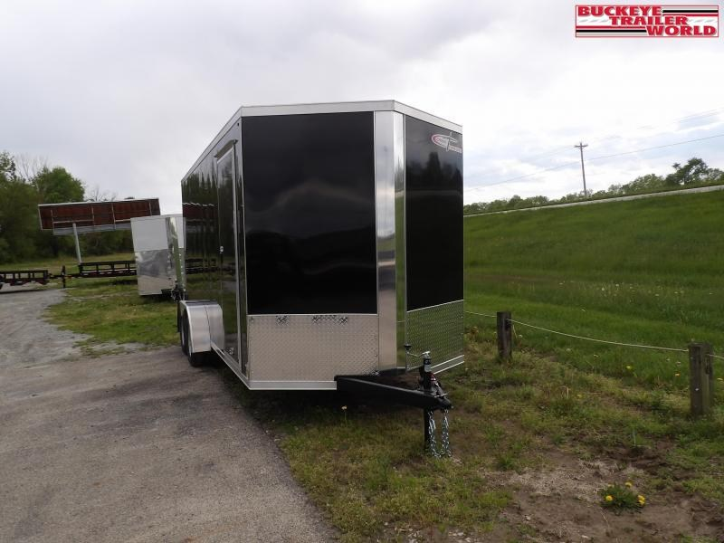"2022 Cross Trailers 7X16TA w/ 12"" Extra Height Enclosed Cargo Trailer"