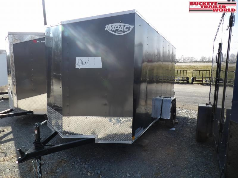 2021 Impact Trailers Quake 6x12 Enclosed Cargo Trailer