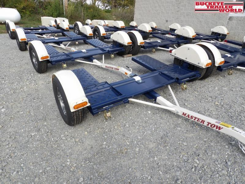 2022 Master Tow 80THD Tow Dolly w/ Electric Brakes and LED Lights