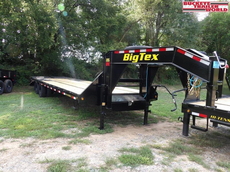 2021 Big Tex Trailers 22GN-25+5 Flatbed Trailer