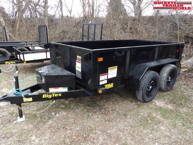 2021 Big Tex Trailers 70SR-10-5WDD Dump Trailer