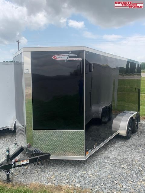 2021 Cross Trailers 7x16 Alpha Arrow BLK Enclosed Cargo Trailer