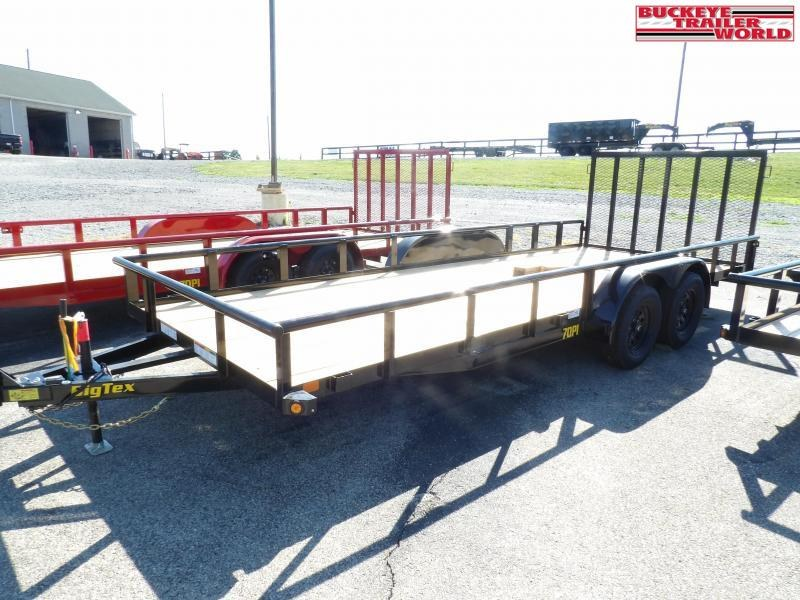 2020 Big Tex Trailers 70PI-20X Utility Trailer
