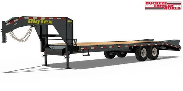 2020 Big Tex Trailers 14GN-25+5 Flatbed Trailer