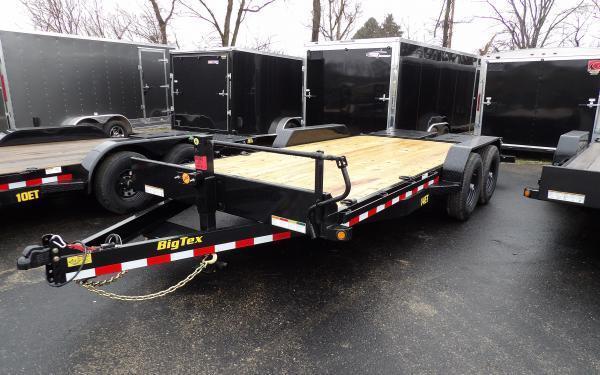 "2020 Big Tex Trailers 14ET 83"" x 18 Equipment Trailer"