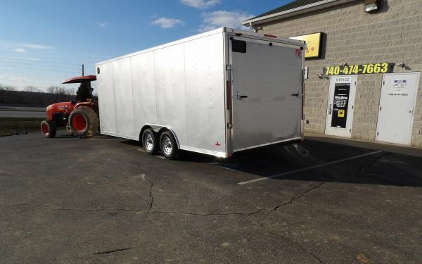 2020 RC Trailers RDLX 8.5 x 20 Tandem Axle Enclosed Cargo Trailer