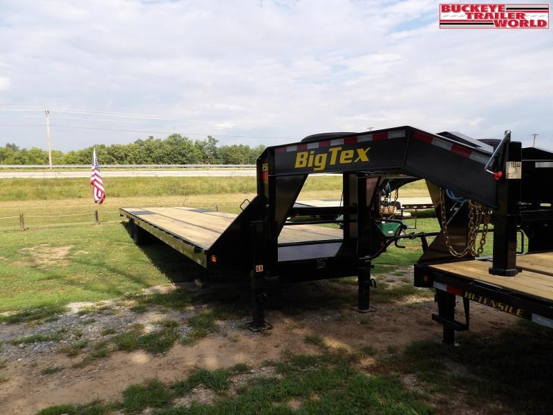 2021 Big Tex Trailers 25GN-40 Flatbed Trailer