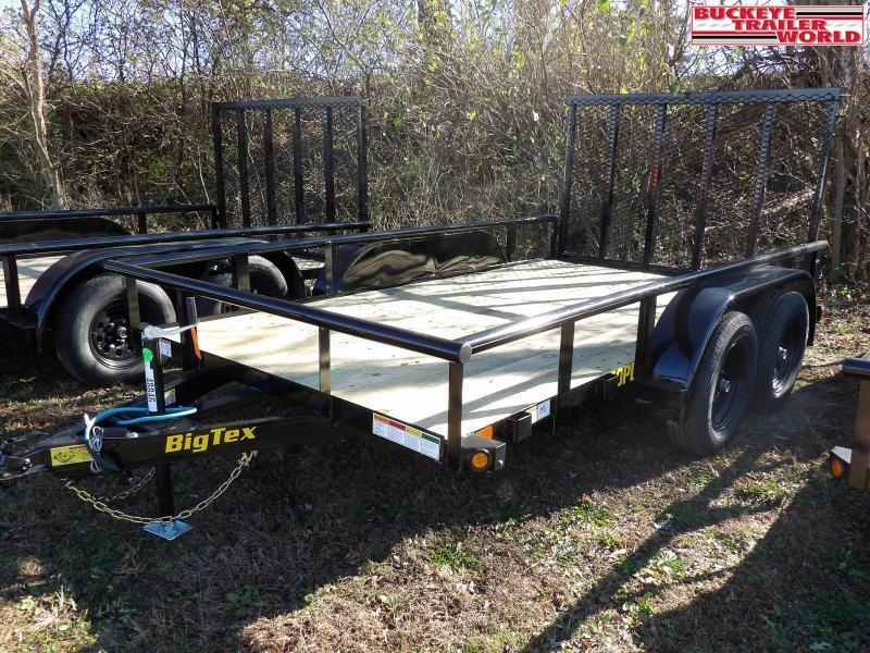 "2021 Big Tex Trailers 60PI- 77""x12 Utility Trailer"