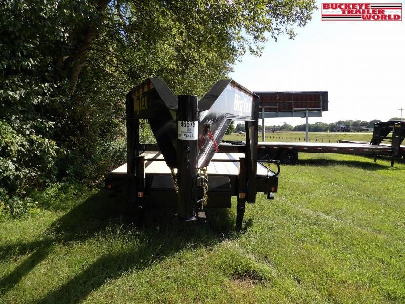 2022 Big Tex Trailers 14GN-20+5(Flip up ramps) Flatbed Trailer
