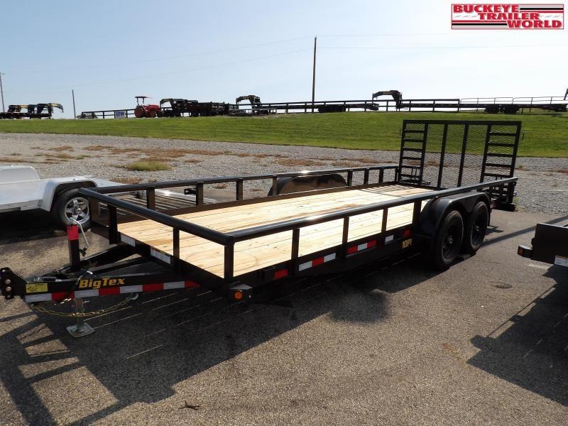 2021 Big Tex Trailers 10PI-20 Equipment Trailer