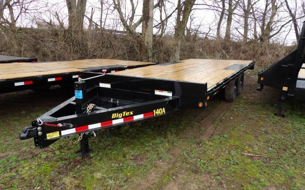 "2020 Big Tex Trailers 14OA 102"" x 20' Deckover Flatbed Trailer"