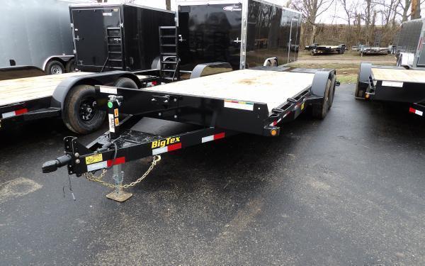2020 Big Tex Trailers 10ET 7 x 20 Equipment Trailer w/ Mega Ramps