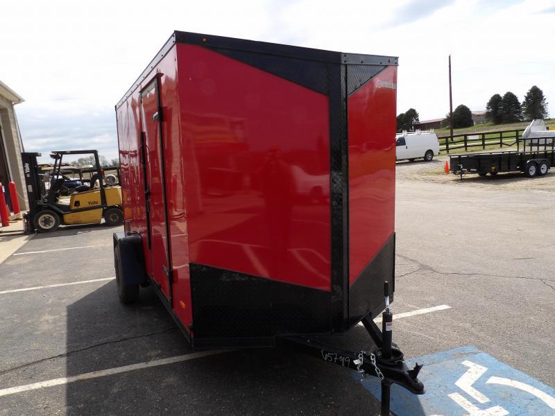 2020 RC Trailers RDLX 6 x 12 Single Axle Enclosed Cargo Trailer