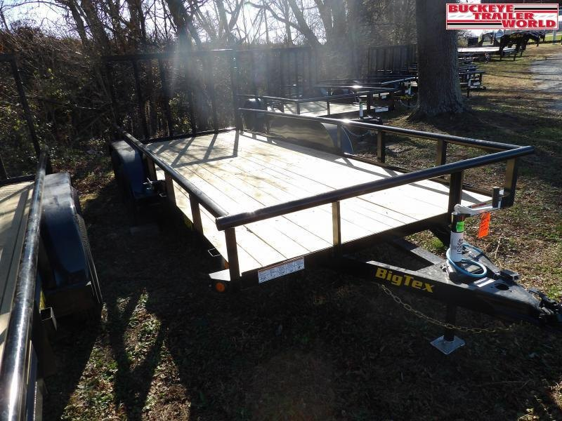 "2021 Big Tex Trailers 60PI-77""x16 Utility Trailer"