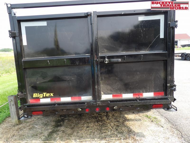 2022 Big Tex Trailers 14LP-14(High sides) Dump Trailer